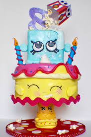 cake ideas 10 adorable shopkins cakes pretty my party