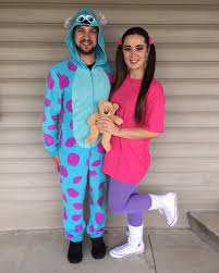 sully and boo couple halloween costume sullyandboo