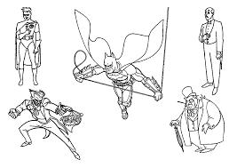 free printable batman coloring pages kids robin