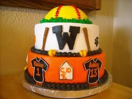 softball cake cakecentral com