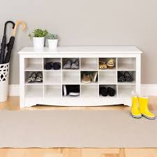 Entry Bench With Shoe Storage Entryway Bench With Shoe Storage White Home Town Bowie Ideas