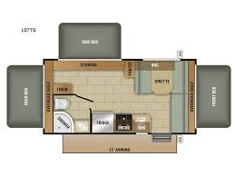 Expandable Floor Plans New Starcraft Launch Outfitter 187tb Expandable For Sale Review