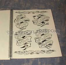 tattooflashbooks com boog gentlemans tattoo flash script book