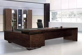 Modern Wooden Office Tables China Modern Wooden Office Furniture Desk For Sale Executive Ceo