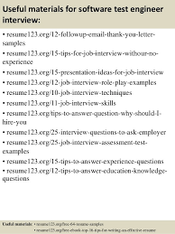 Software Resume Samples by Software Test Engineer Resume Samples Engineering Professional