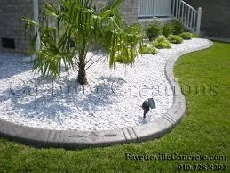 white garden rocks gardening ideas