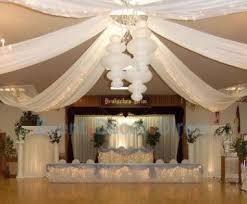 used wedding supplies wedding ceiling decor draping kits