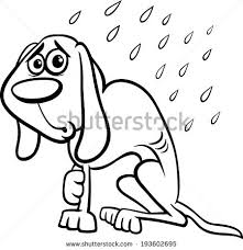 coloring pages mother fur seal lays stock vector 450631573