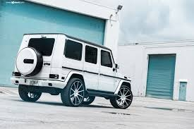 customized g wagon interior jaw dropping custom white mercedes g class shod in avant garde