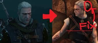 witcher 2 hairstyles mod idea better hair cd projekt red forums