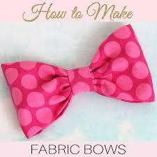 fabric bows how to make fabric bows diy fabric bows treasurie