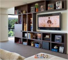 Wall Unit Bookshelves - amazing tv stand with bookshelves interior decoration