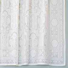 cotton lace curtains era bradbury bradbury