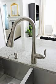 moen arbor kitchen exciting pull down faucet for your kitchen it just so happens that i have the euro bar pulls in the same stainless steel finish as the new faucet a lucky coincidence but really i think itu0027s about