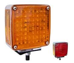 Led Pedestal Light Left Hand Double Face Pedestal Led Turn Signal Light Single