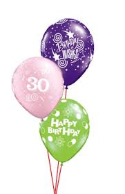 30th birthday balloon bouquets 30th birthday bouquet prices start from the party shop donnybrook