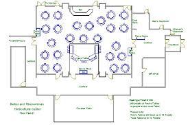 Sample Floor Plan Of A Restaurant Andrew B Barber U0026 Clarence D Oberwortmann Horticultural Center