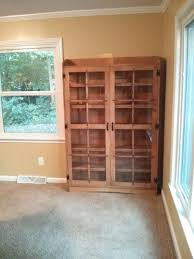 custom made quartersawn oak mission style bookcase by the