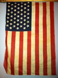 Flag With Yellow Star 49 Star American Flag