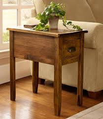 rustic wood side table this is what we would use as the side table where laura placed the