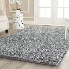 safavieh new orleans shag platinum ivory 8 ft x 10 ft area rug
