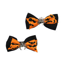 halloween spider dog hair bows by rubies with same day shipping