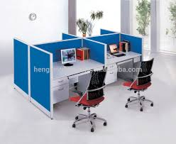 Computer Storage Cabinet Wooden Office Staff Computer Table With Storage Cabinet Office