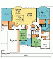 floor plans for homes one story collection single story floor plans photos the