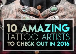 10 amazing tattoo artists to check out in 2016 tattooblend