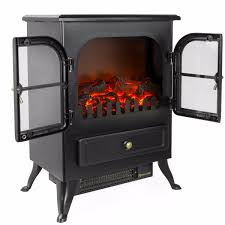 Portable Gas Fireplace by Free Standing Electric 1500w Fireplace Heater Fire Stove Flame