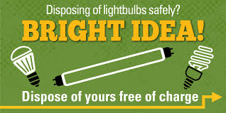 How To Dispose Of Light Bulbs Bright Idea Learn To Safely Dispose Of Light Bulbs