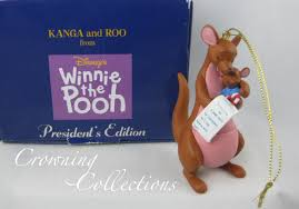 grolier kanga and roo disney ornament president s edition