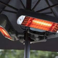 la hacienda electric patio heater la hacienda heatmaster slimline 2 4kw electric heater u2013 the uk u0027s
