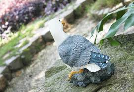 12 garden decoration painted creative resin seagull birds