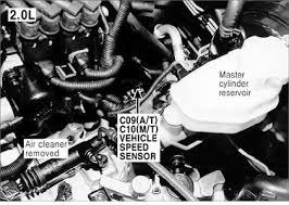 2001 hyundai tiburon transmission problems need location of where vehicle speed sensor is for 2000 fixya