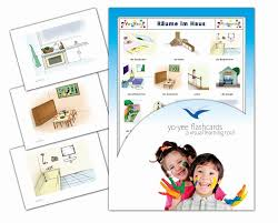 Amazon Playmobil Esszimmer Bildkarten Zur Sprachförderung Räume Im Haus Für Kita