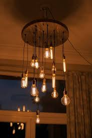 edison bulb patio lights very cool edison l hanging in living room pinteres