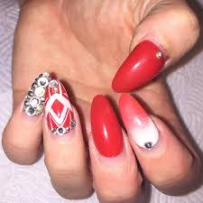 26 long acrylic nail art designs ideas design trends