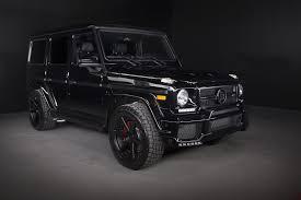 mercedes g wagon blacked out dub magazine brabus mercedes benz g63