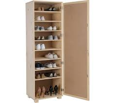 buy home mirrored shoe storage cabinet solid unfinished pine at