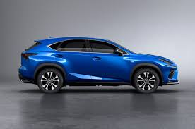 lexus mid size crossover lexus updates nx crossover for 2018
