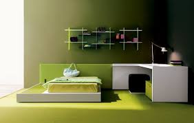 simple and modern green bedroom styles home interior design 26085