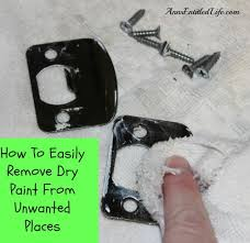 paint places how to easily remove dry paint from unwanted places 1 jpg