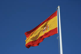 Spainish Flag File Spanish Flag Flying In Murcia Spain Jpg Wikimedia Commons