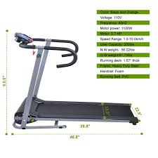 best black friday deals for treadmills amazon com goplus 500w folding portable electric treadmill