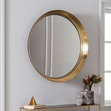 Mid Century Modern Wall Mirror Recessed Wall Mirror West Elm