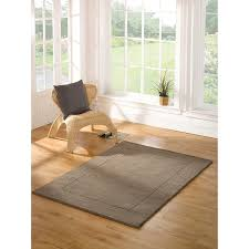 flair rugs tuscany siena 100 wool hand tufted textured border