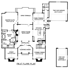 Modern Colonial House Plans Colonial House Plan Palmary 10 404 Flr1 0 Plans With Front Porch