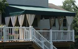 Side Awnings Custom Stationary Awnings Northern Nj Awnings Bergen