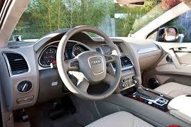 Audi Q7 Diesel - 2010 audi q7 tdi clean diesel beige interor eurocar news